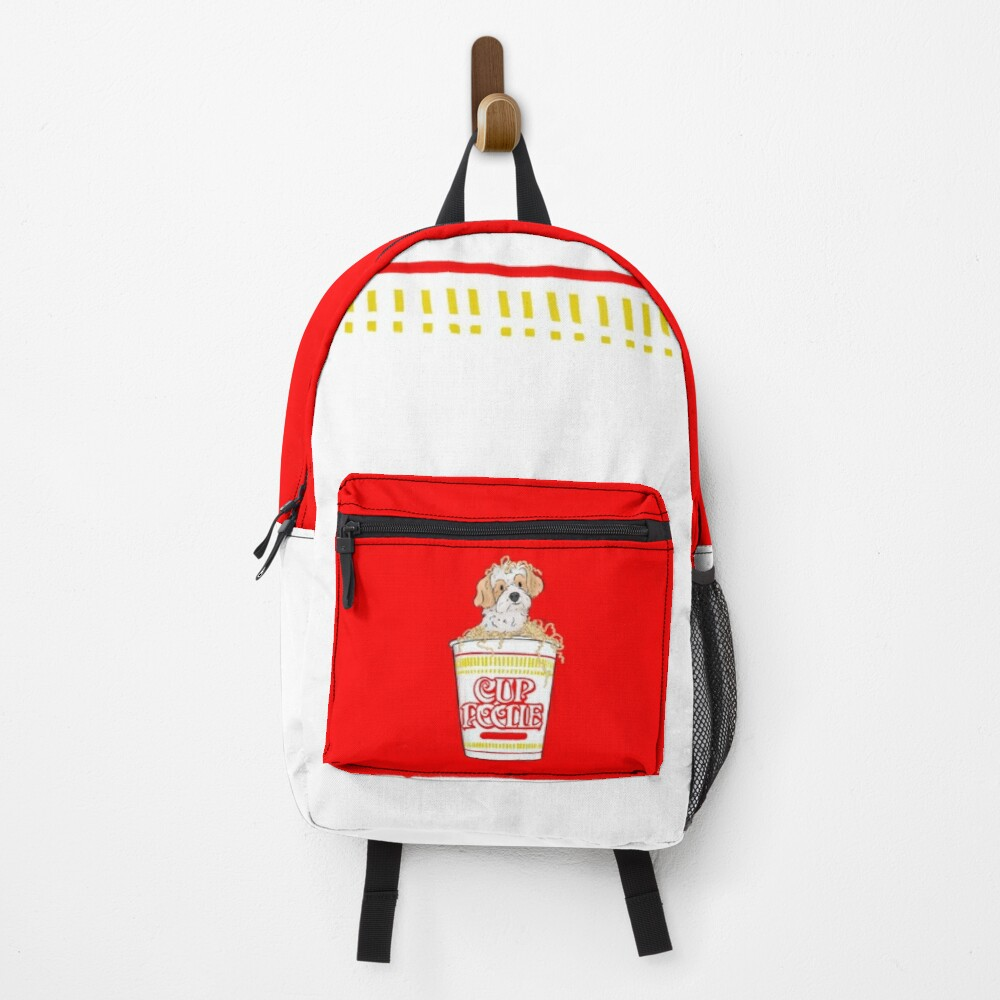 Mini, the cup o poodle! Backpack