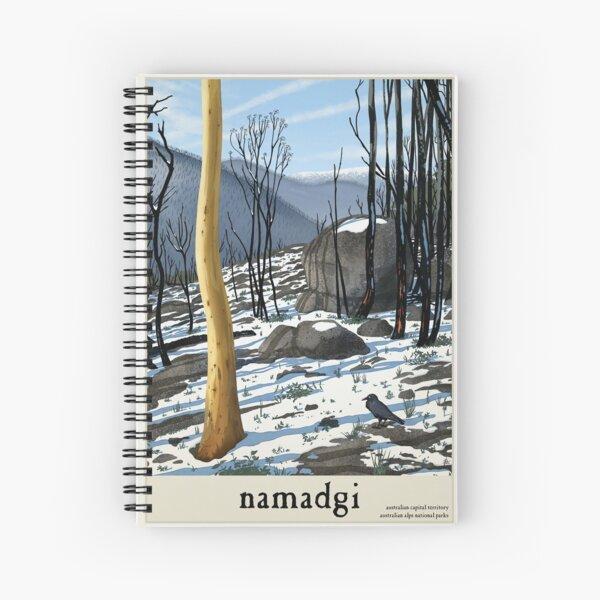 Namadgi Spiral Notebook