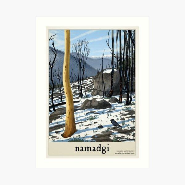 Namadgi Art Print