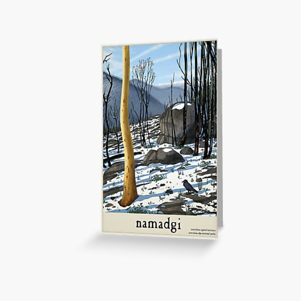 Namadgi Greeting Card