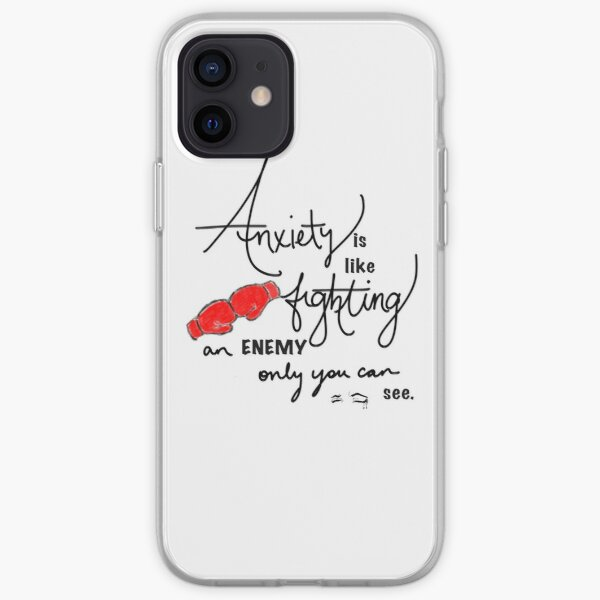 Anxiety is... iPhone Soft Case