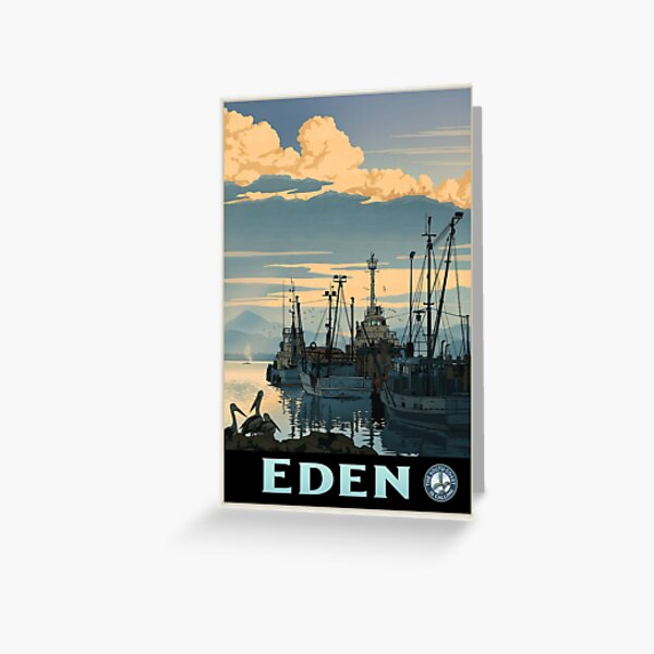 Eden Greeting Card