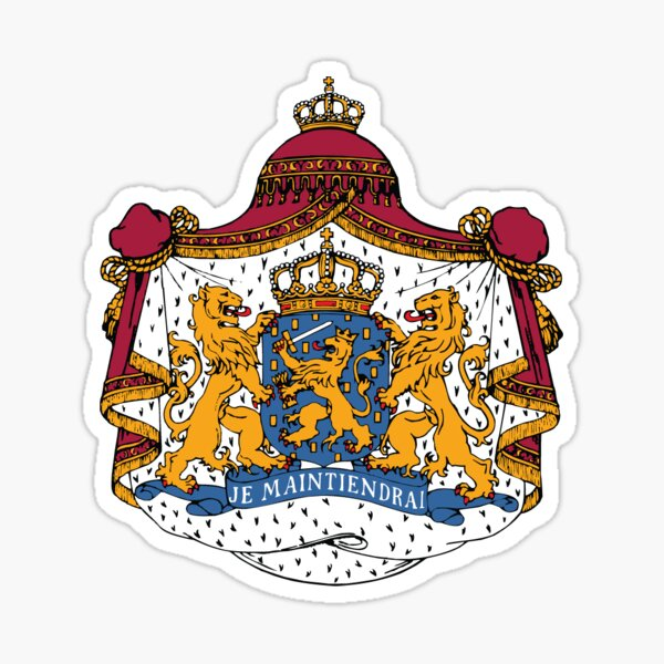 National coat of arms of the Netherlands Sticker
