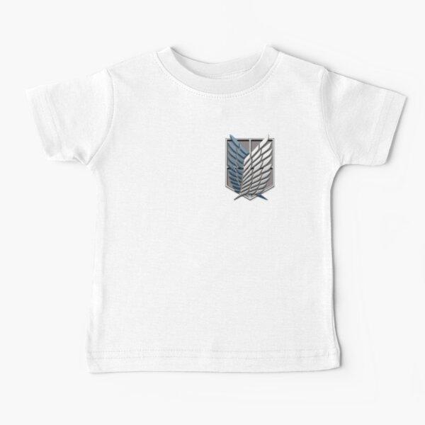 Attaque des ailes des titans de la liberté T-shirt bébé