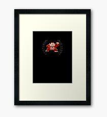 Donkey Kong - Sprite Badge Framed Print