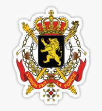 National Coat of Arms of Belgium Sticker