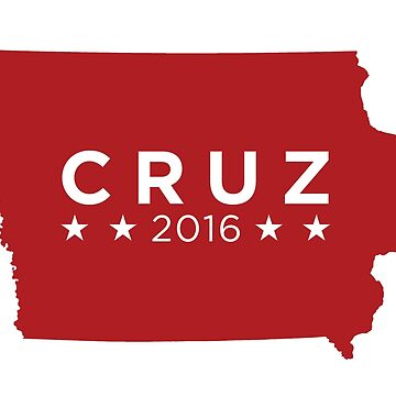 Ted Cruz 2016 State Pride - Iowa by unitedinthreads