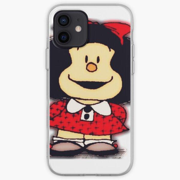 Fundas y pegatinas para móviles mafalda Funda blanda para iPhone