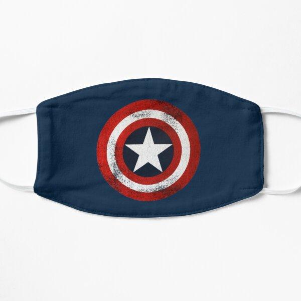 Capitán América Mascarilla plana