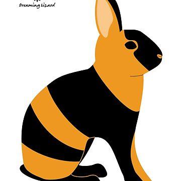 Black Japanese Rabbit by DreamingLizard