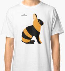 Black Japanese Rabbit Classic T-Shirt