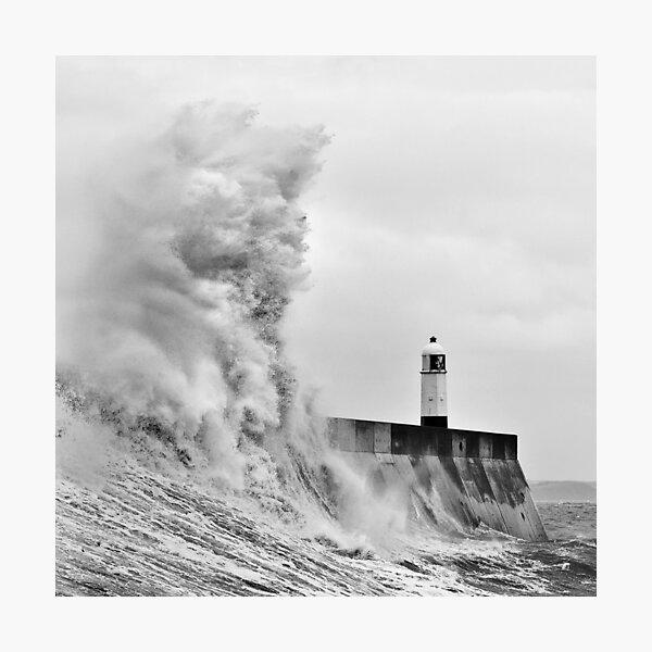 Porthcawl Lighthouse Photographic Print