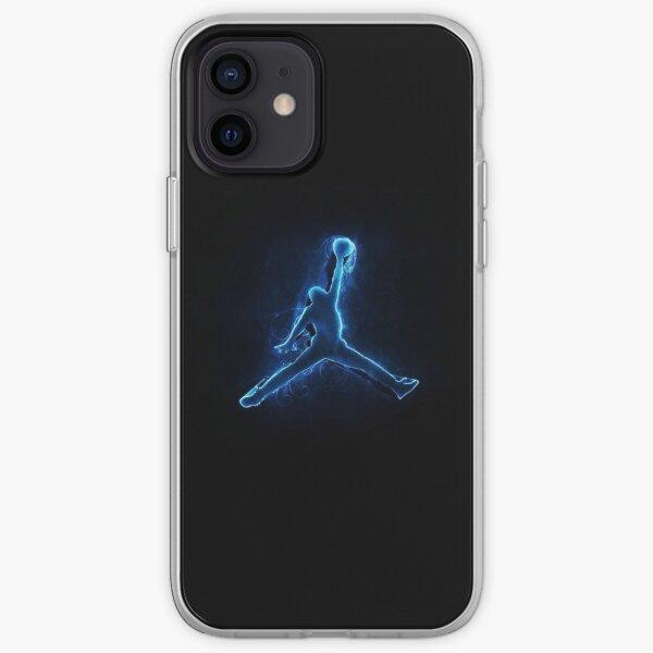 Jumpman Jordan Funda blanda para iPhone