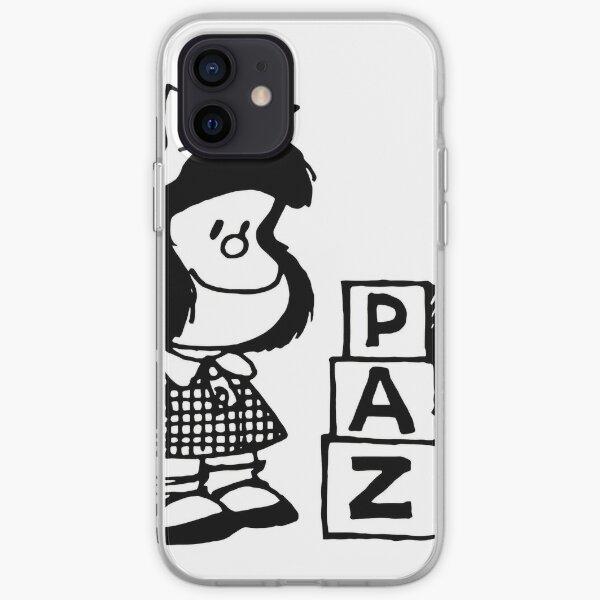 Mafalda Funda blanda para iPhone