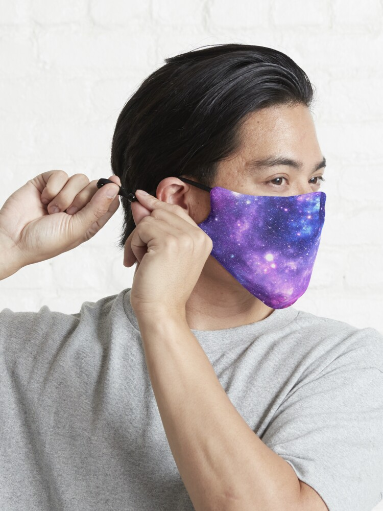 Alternate view of Purple Blue Galaxy Nebula Mask