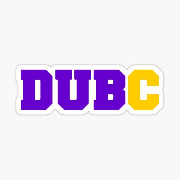 DUB C Sticker