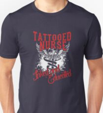 tattooed nurse Unisex T-Shirt