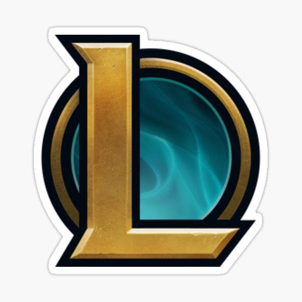 Logotipo de League of Legends Pegatina