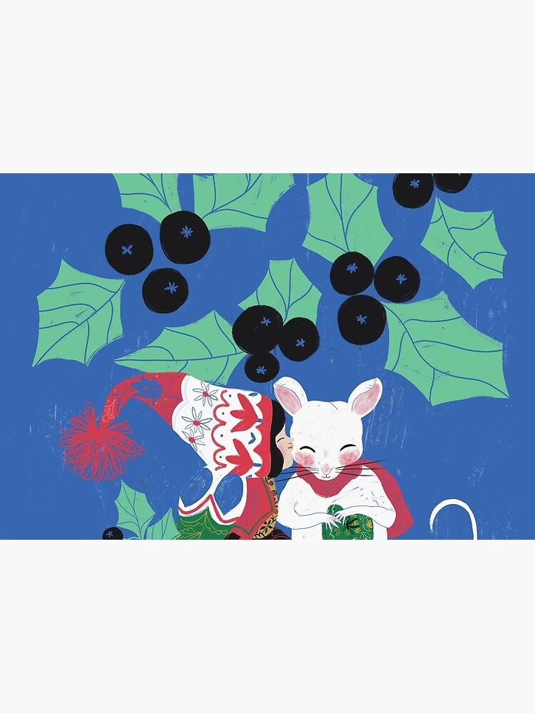 Christmas mistletoe kiss by spoto