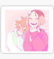 Kenhina giggles Sticker