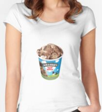 Half Baked Ice Cream Women's Fitted Scoop T-Shirt