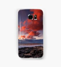Rocky Sunset Samsung Galaxy Case/Skin