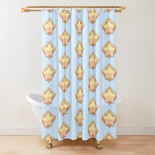 Star Guardian Brooch Shower Curtain