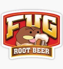 Fug Root Beer Sticker