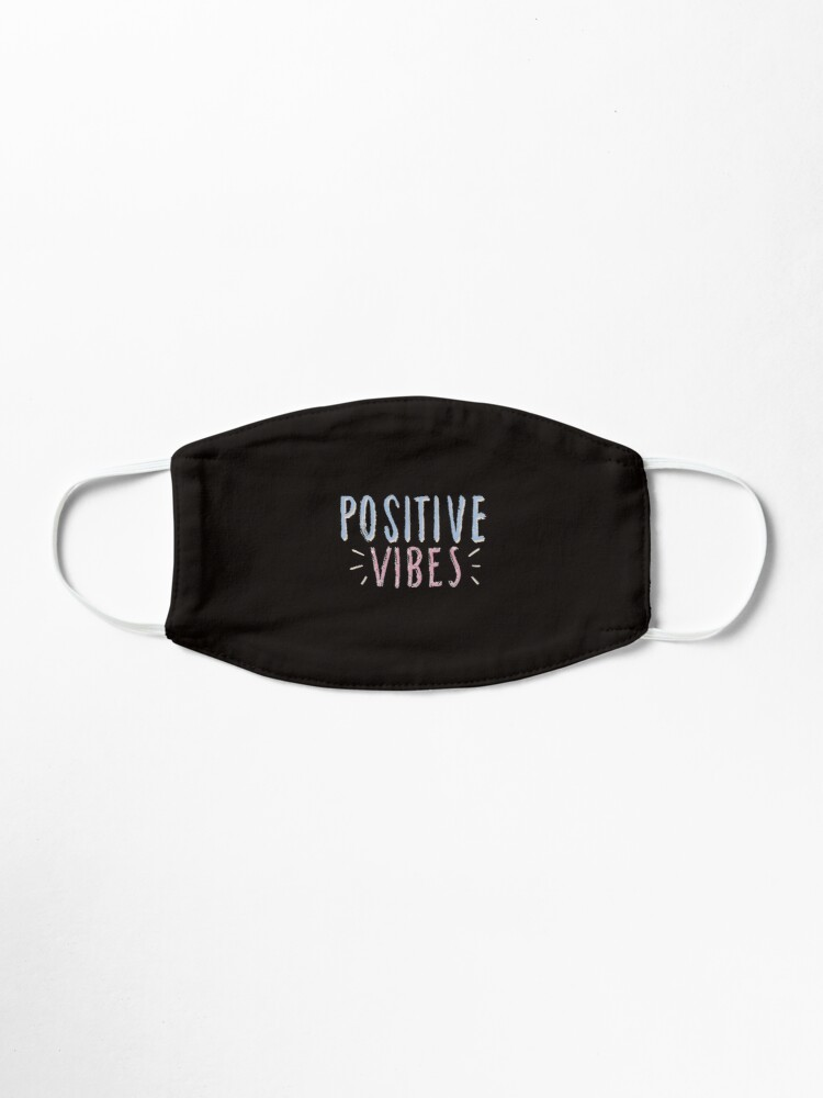 Alternate view of POSITIVE VIBES Mask
