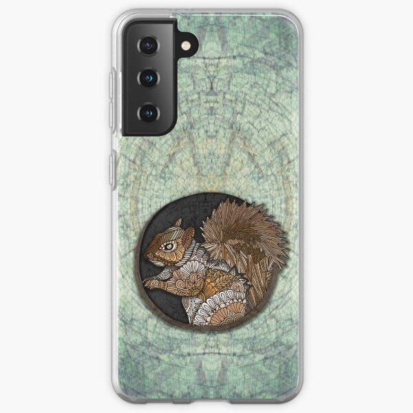 Ornate Squirrel  Samsung Galaxy Soft Case