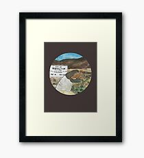 Perfection valley Framed Print