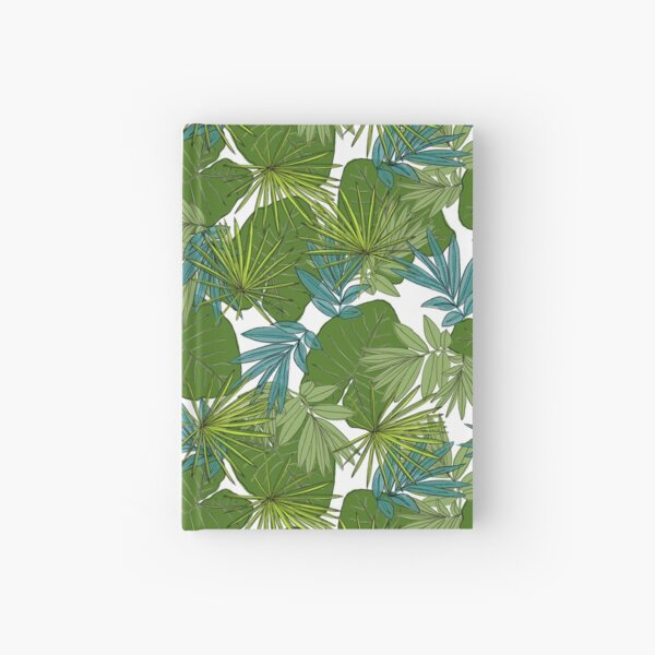 Tropical Jungle Hardcover Journal