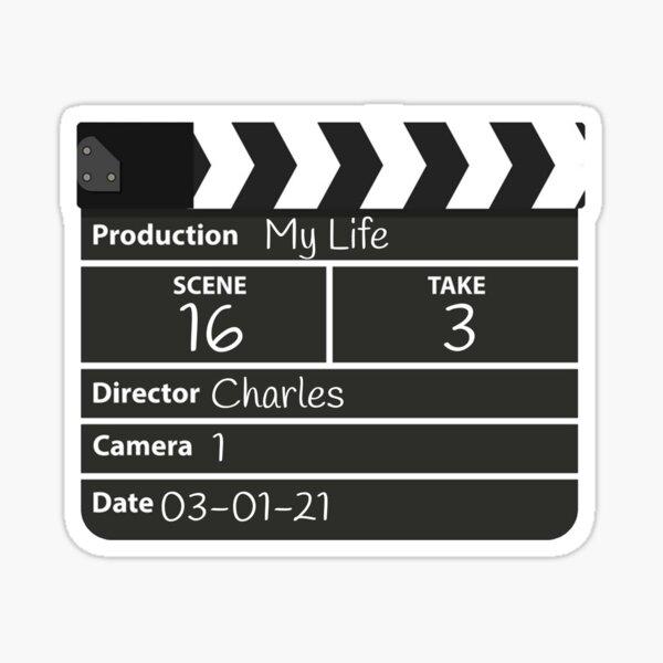 Film director charles Sticker