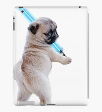 Pug with Lightsaber iPad Case/Skin
