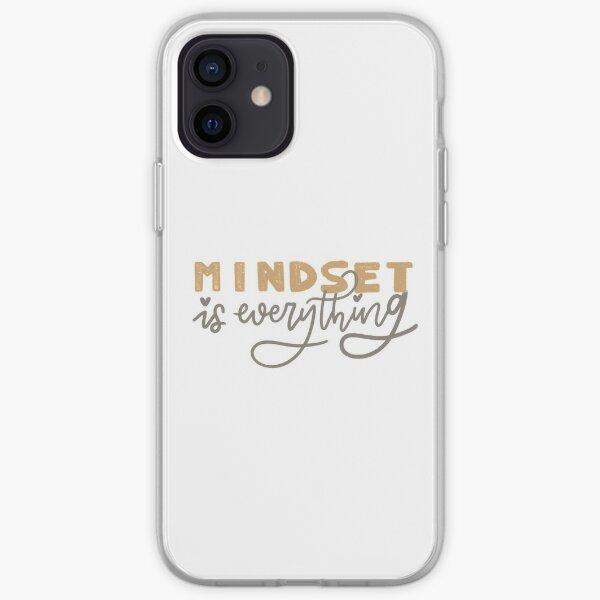mindset is everything iPhone Soft Case