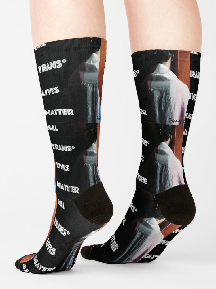 Alternate view of All Trans Lives Matter Socks