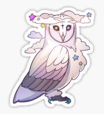 BILLOWING BARN OWL Sticker