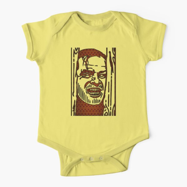 """The Shining """"Carpet Face"""" Short Sleeve Baby One-Piece"""