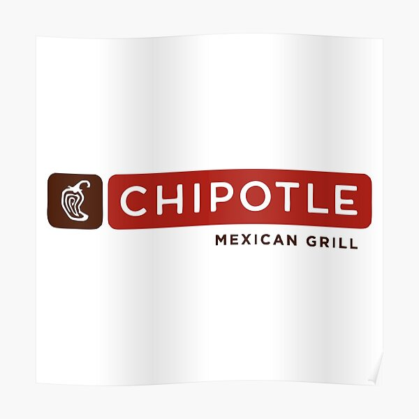 BEST SELLING - Chipotle Mexican Merchandise Poster