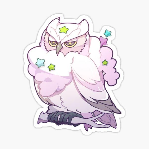 OVERCAST OWL Sticker