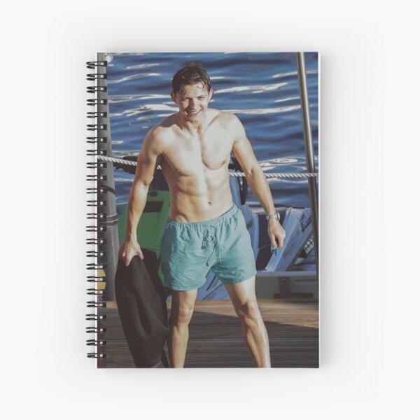 Tom Holland Spiral Notebook