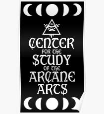 Center for the Arcane Arts Poster