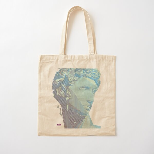 Giuliano Scanline Portrait | Day Time Cotton Tote Bag