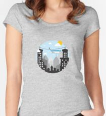Cut Copy Paste Women's Fitted Scoop T-Shirt