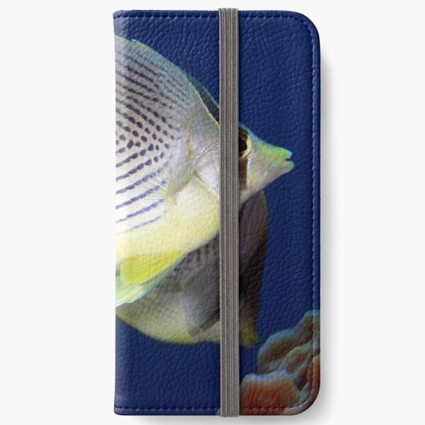 Four eyed butterflyfish iPhone Wallet