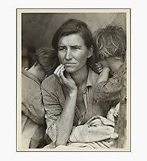 Migrant Mother Photographic Print