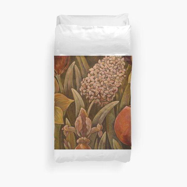 Faces of Holland Duvet Cover