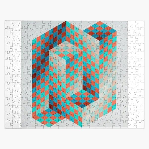 Op Art #OpArt Optical Art #OpticalArt Optical Illusions #OpticalIllusions #Illusion Jigsaw Puzzle