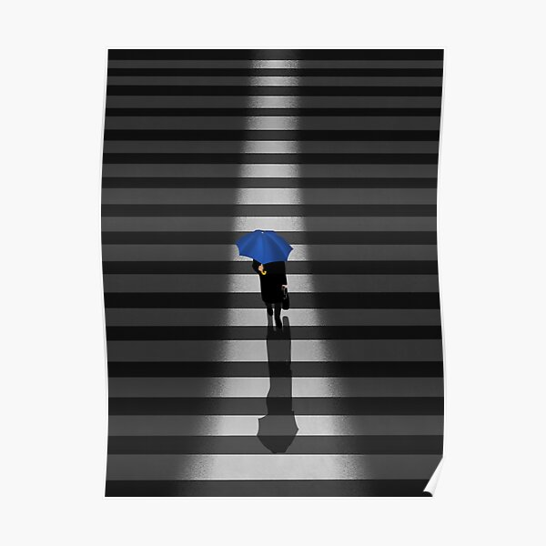 Commuting In New York City  Poster