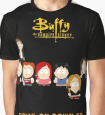 Buffy the Vampire Slayer as South Park Graphic T-Shirt